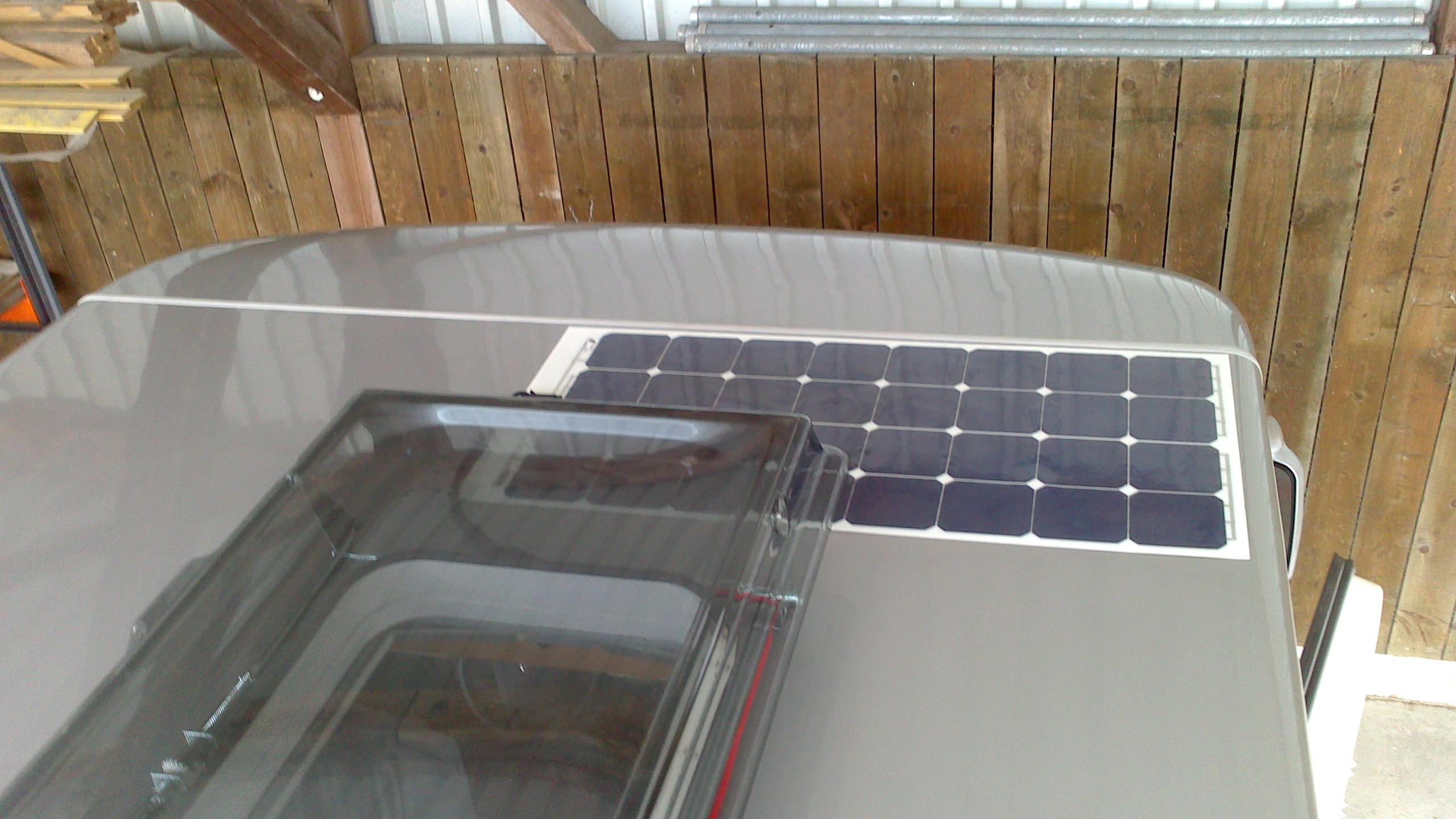 Surriscaldamento pannelli solari flessibili  Pagina 1  I Forum di CamperOnLine